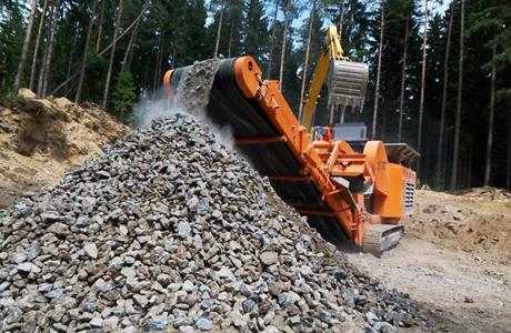 石头破碎机的发展及保养